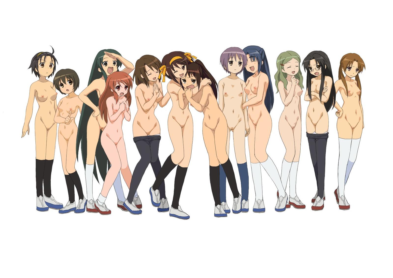 二次エロ画像 裸の女性大量 14枚目